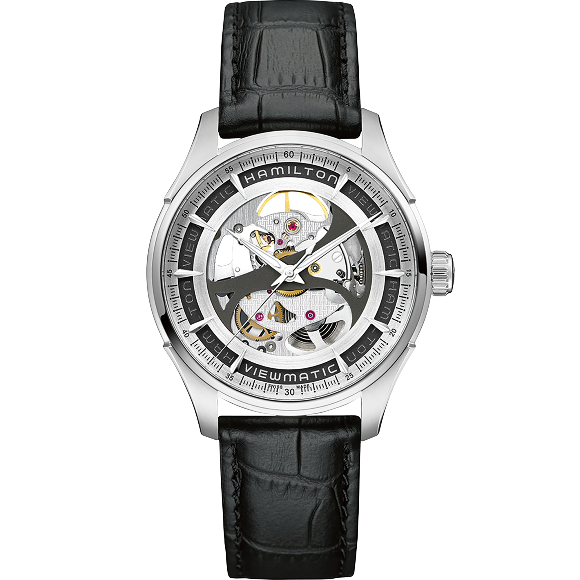 Image result for Hamilton Jazzmaster Viewmatic Skeleton Gent Auto