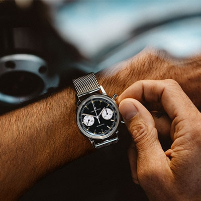 TAKE IN EACH AND EVERY MOMENT WITH OUR NEW INTRA-MATIC CHRONOGRAPH H