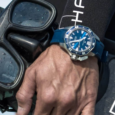 TIMING IS EVERYTHING IN FREE DIVING